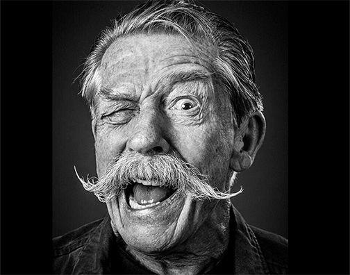 John Hurt, what a beard! By Andy Gotts
