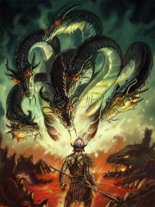 17 Best images about Hydras on Pinterest   Hercules, Greek ... Greek Mythology Hydra