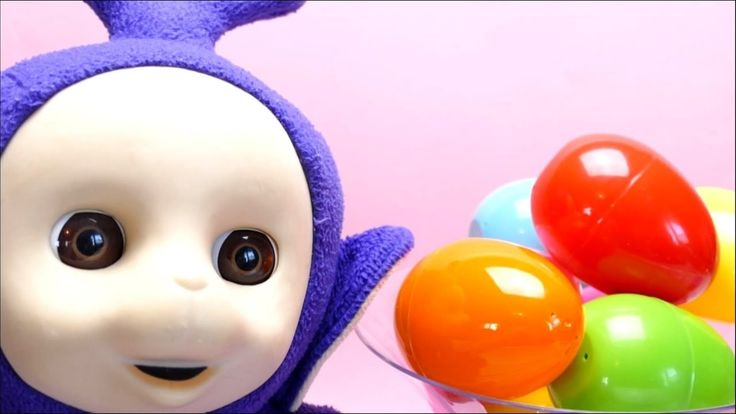 Learn English Colors Name for Kids Teletubby Tinky Winky opens Surprise Eggs - http://ift.tt/1mZZxO9