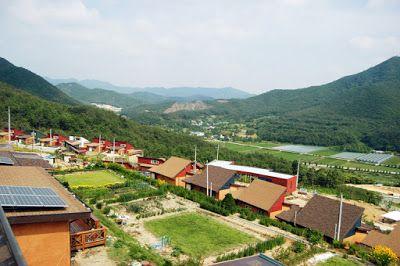 tyne_Archi: 충북 영동 백화마을 / 이종혁, 민들레건축ㆍ코하우징(Beakhwa Town_Korea Co...
