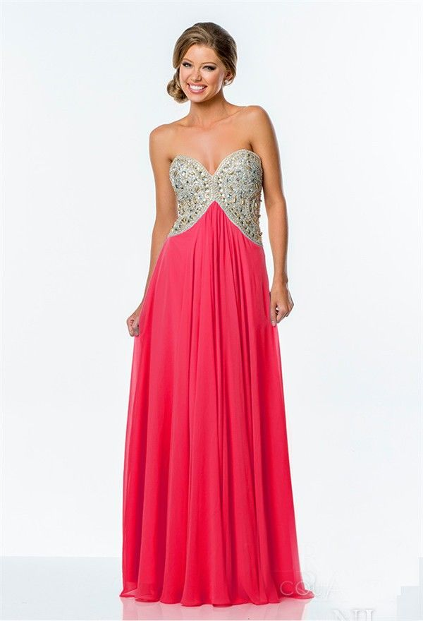 10  images about Hot Pink Prom Dresses on Pinterest  Prom dresses ...