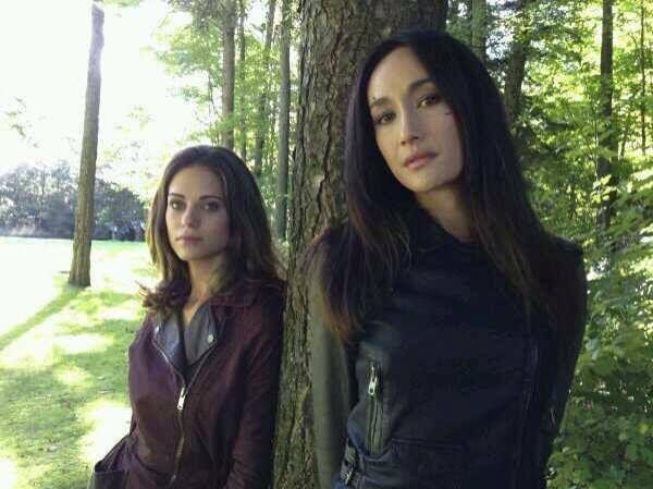 #Nikita Season 4 Finale: Behind The Scenes - Alex & Nikita