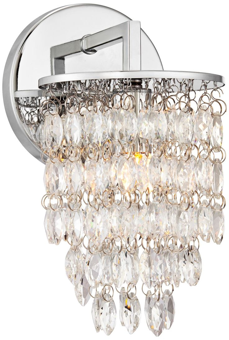 187 best lighting and fans for miami images on pinterest ceiling possini euro lilia 8 12 high crystal wall sconce arubaitofo Gallery