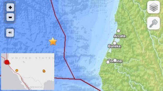 EE.UU.: sismo de 6,9 grados remeció el norte de California