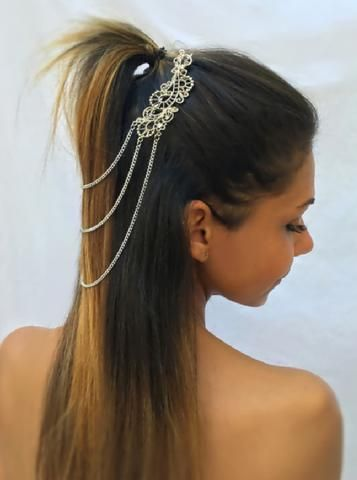 Hair Drape Chains - Muse - by Drizzle Jewellery