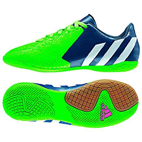 Adidas Kids Predito Instinct In J Indoor Soccer Shoe #Adidas, #Indoor, #