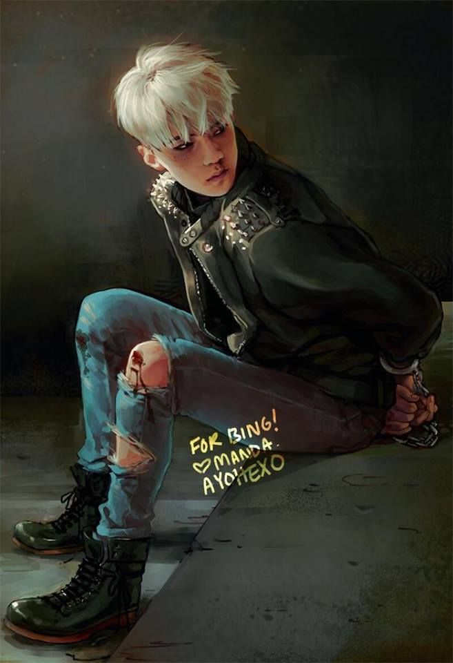 #SehunFanart  OhmyGod he look so cool!! i love you sehuunnn♥ | follow me and i will follow back u ^^