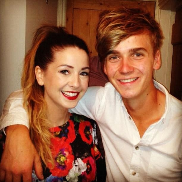 Zoella and joe sugg. Prettiest siblings ever