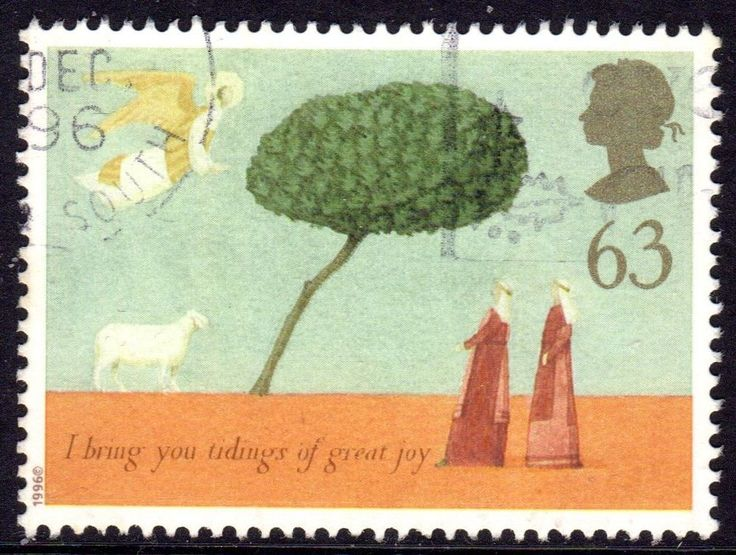 GREAT BRITAIN 1996 CHRISTMAS USED