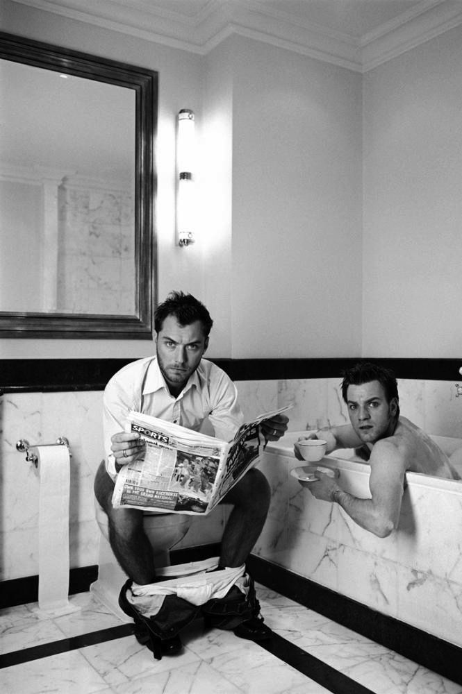 Jude Law & Ewan McGregor by Lorenzo Agiusa