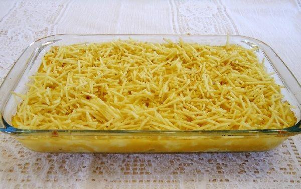 Aprenda a fazer Fricassé de Bacalhau, uma receita muito saborosa e fácil, que vai deixar todo mundo com água na boca! Veja Também:Lasanha Cremosa de Bacal