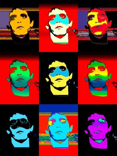 Lou Reed by Andy Warhol