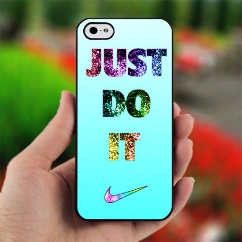 Nike glitter case ♥ If only I had an  iPhone!