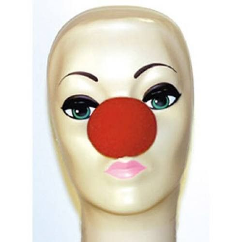 "Magic By Gosh Red Foam Clown Nose (2.5"")"