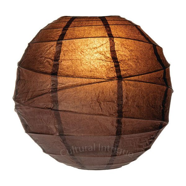 Espresso Brown 10 Inch Round Paper Lanterns ($3.95) ❤ liked on Polyvore featuring home, outdoors, outdoor lighting, fillers, lanterns, lighting, backgrounds, outdoor lanterns, battery powered lanterns and battery powered outdoor light