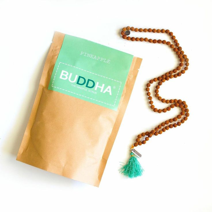 Our blessed mala with the Buddha Scrub