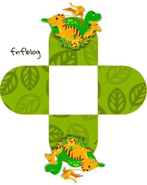 Forminha Docinho 3D Dinossauro Cute