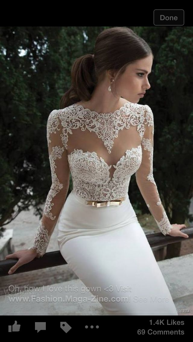 I'm not usually into wedding type stuff but this is the dress I want when it happens... If it happens!
