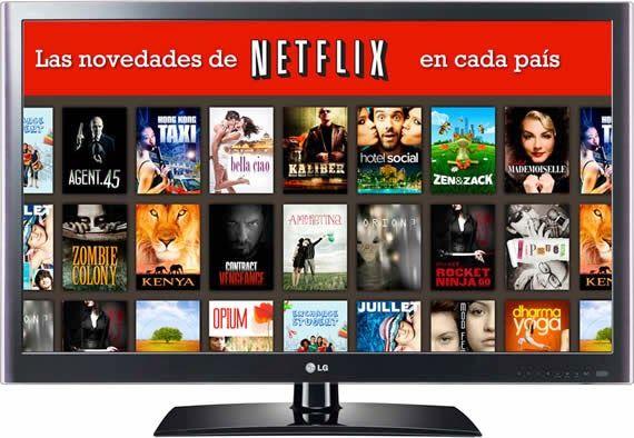 Conoce las novedades diarias de Netflix en cada país#netflix