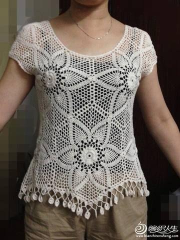 Crochet - tops.