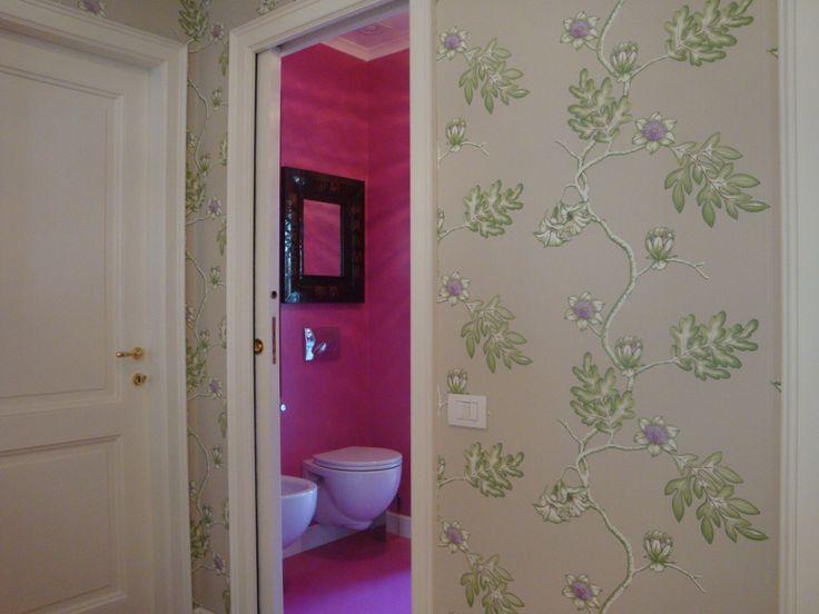 #interiordesigner #progettazione #design #progettazionesumisura #valterpisati #bagni #wallpaper #cartadaparati