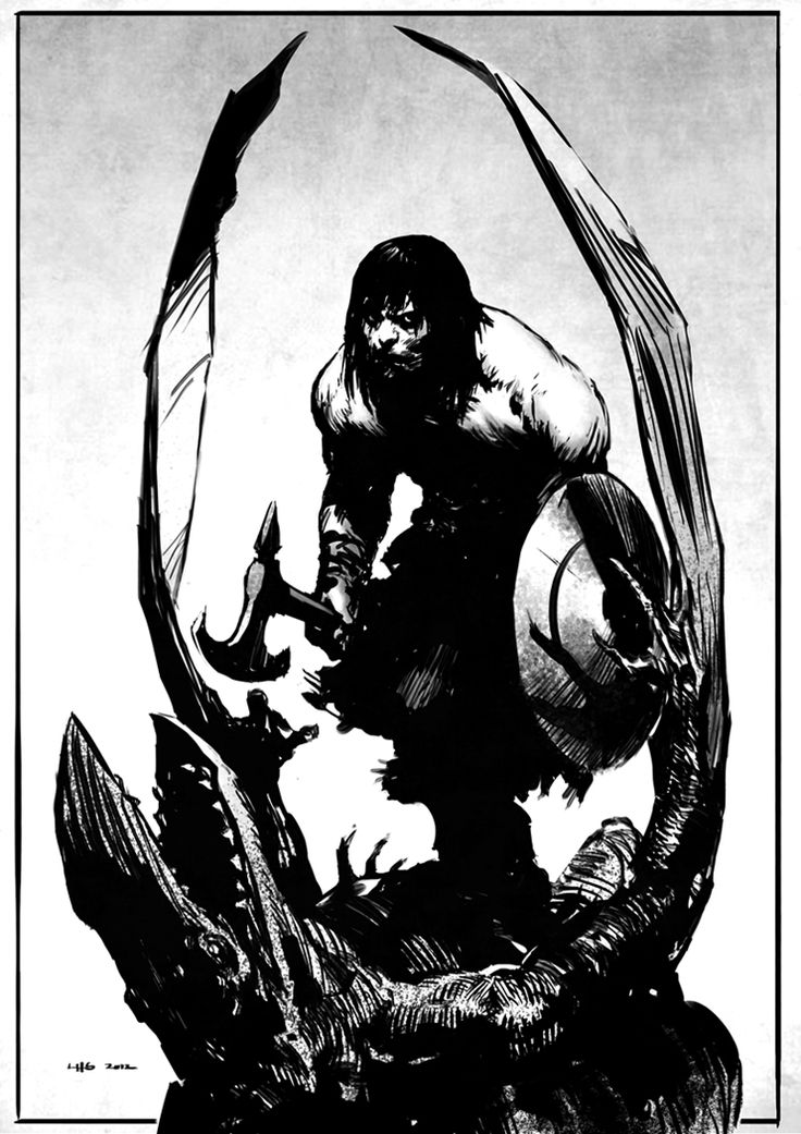 I love the old Frazetta paintings of the barbarian and I´m also a big fan of the old 70´s comics (I think those influences shine through here). Not really liking the new movie but quite frankly Arnold was a lousy Conan back in the day too. Conan by bumhand