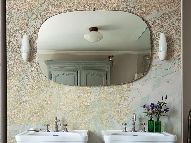 Tapeten Fuers Badezimmer : 000 Ideen zu ?Badezimmer Tapete auf Pinterest Tapeten, Badezimmer