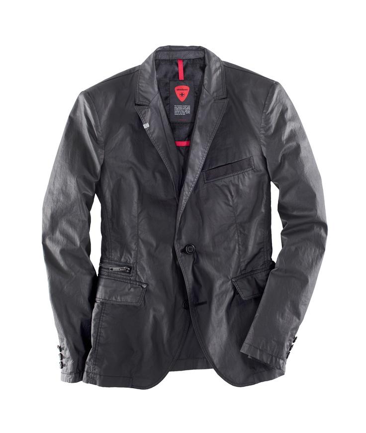 casual jacket from strellson sportswear spring summer 2012. Black Bedroom Furniture Sets. Home Design Ideas