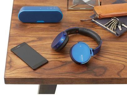 Caixa de Som Bluetooth Sony SRS-XB2 Extra Bass - 20W USB Microfone Embutido MP3 com as melhores condições você encontra no Magazine Voceflavio. Confira!