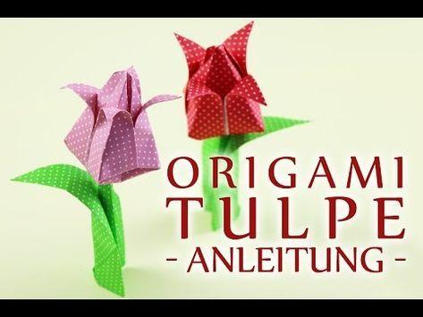 Weitere Tipps und Anleitungen: https://www.talu.de/origami-tulpe-falten/ In diesem Video zeigen wir Euch, wie man eine Origami Tulpe falten kann. Es ist supe...