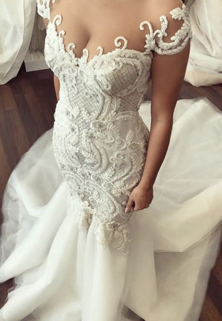 George Elsissa Custom made  Wedding Dress on Sale 56% Off