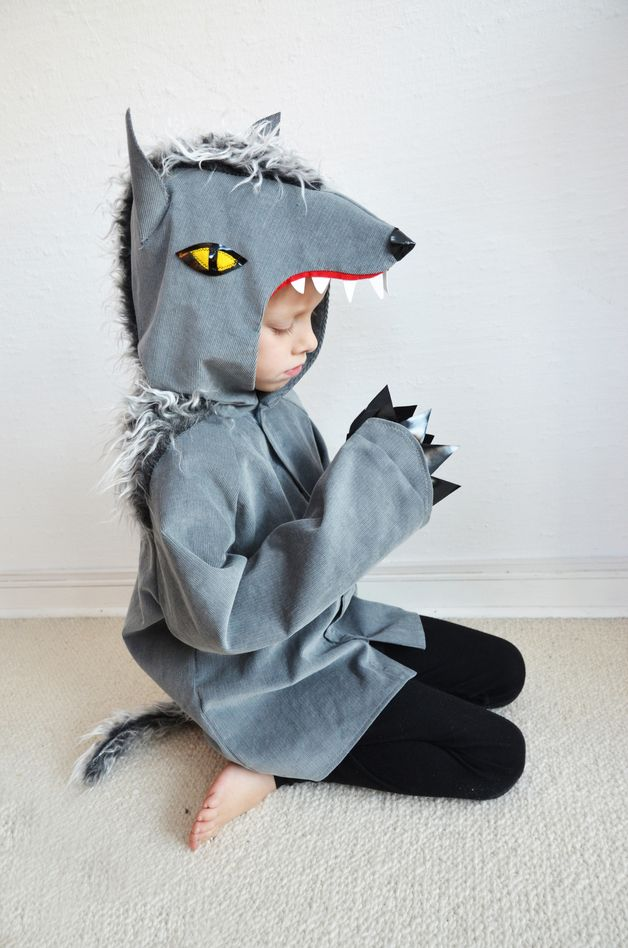 Kinder Kostüm Werwolf // werewolf costume via DaWanda.com