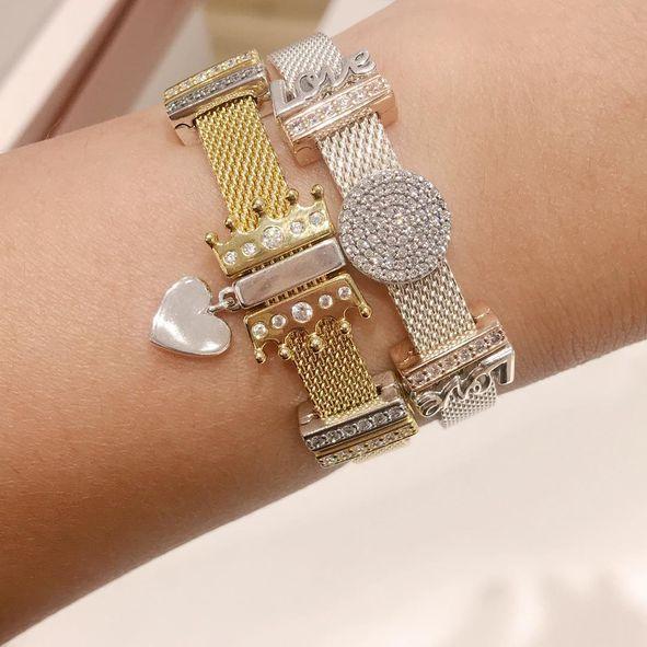 a851a4ee6d955 PANDORA Reflexions™ Bracelet, PANDORA Shine™   PANDORA Jewelry US ...