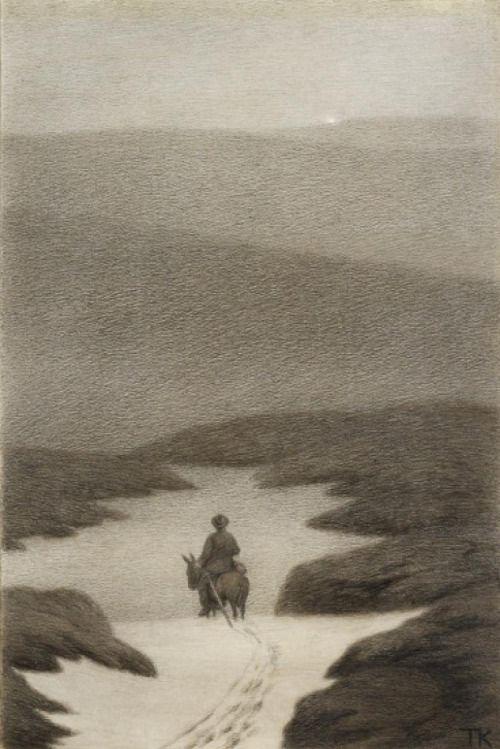 "dekehlmark: "" Theodor Severin Kittelsen (1857-1914), Soria Moria Slott - 1911 """