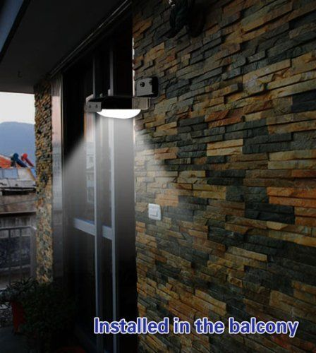 waterproof wireless solar power 16 led motion sensor light outdoor home security lamp led wall illuminate garden yard lamp l