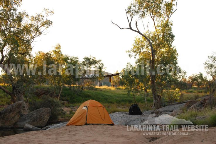 Excellent camping at Jay Creek Trailhead area, Section 3, Larapinta Trail. © Explorers Australia Pty Ltd 2013