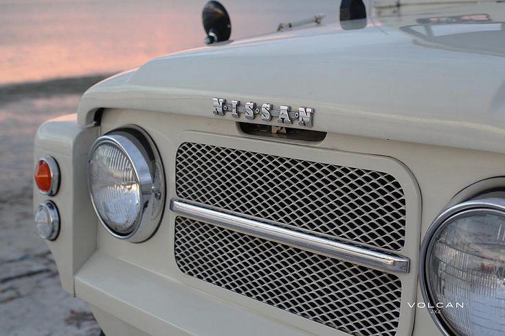 1967 Volcan 4x4 Nissan Patrol. interior.