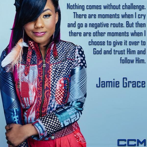 Jamie Grace she is so awesome