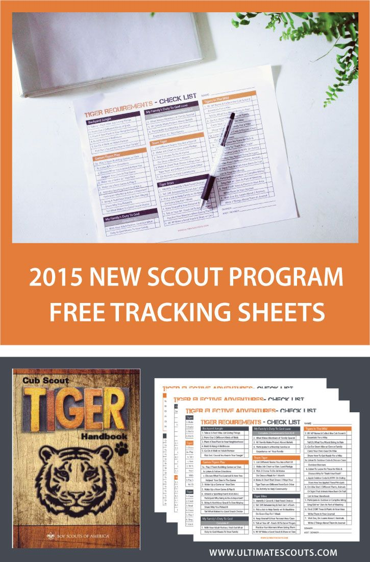 The New Cub Scout Program is finally here!  So much thought and hard work has been put into a new and exciting experience for the scouts.  We have put together a great looking Tracking Sheet that w...