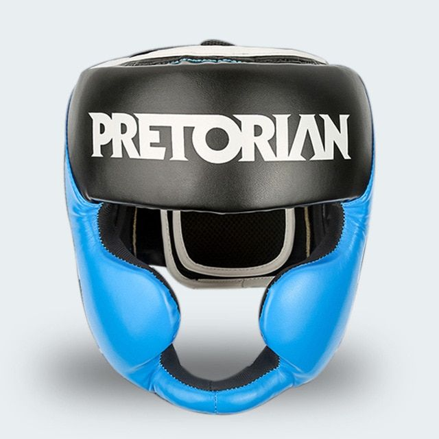 MMA THAI  Headgear Head Guard Training Helmet Kick Boxing Protection Gear head