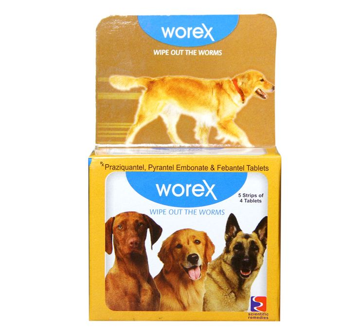 Scientific Remedies Worex Dewormer For Dog 20 Tablets
