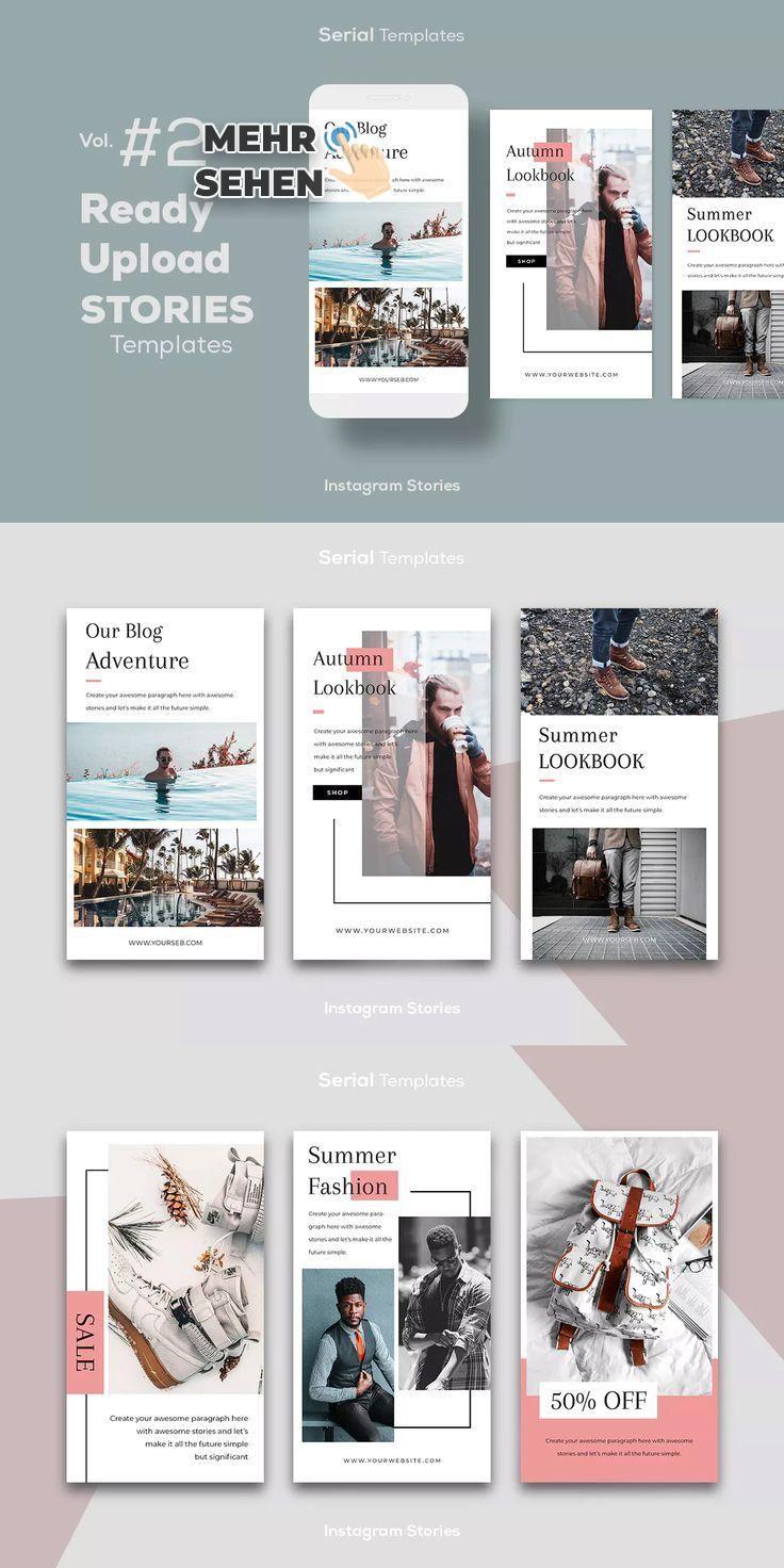 Imstagram Speichert Vorlage Psd Broschurendesign Broschure Design Grafik Design
