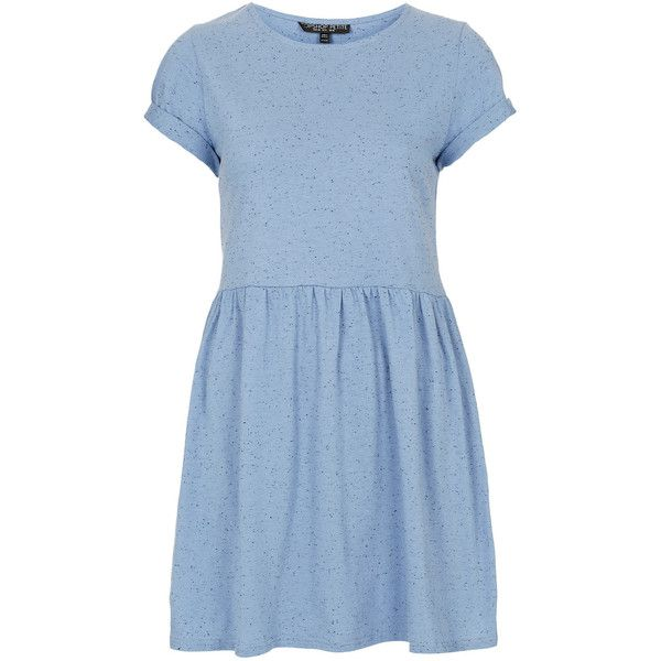 TOPSHOP Petite Speckle Mini Dress ($52) ❤ liked on Polyvore