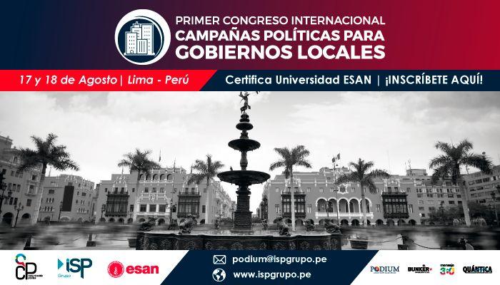 Congreso Internacional de Campañas Políticas para Gobiernos Locales