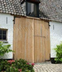 Hout - poorten - Ramen, Deuren, Luiken en Poorten - Ramen Lanssens