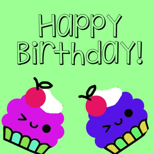 A Balanced Birthday Gift Is Sweet Wish Cupcakes Strike The Balance With This Cute Ecard Happybirthday Cards Greetings Wis