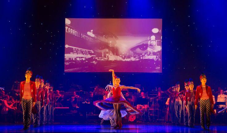 An American in Paris in Queensland Ballet's Strictly Gershwin  Photo David Kelly