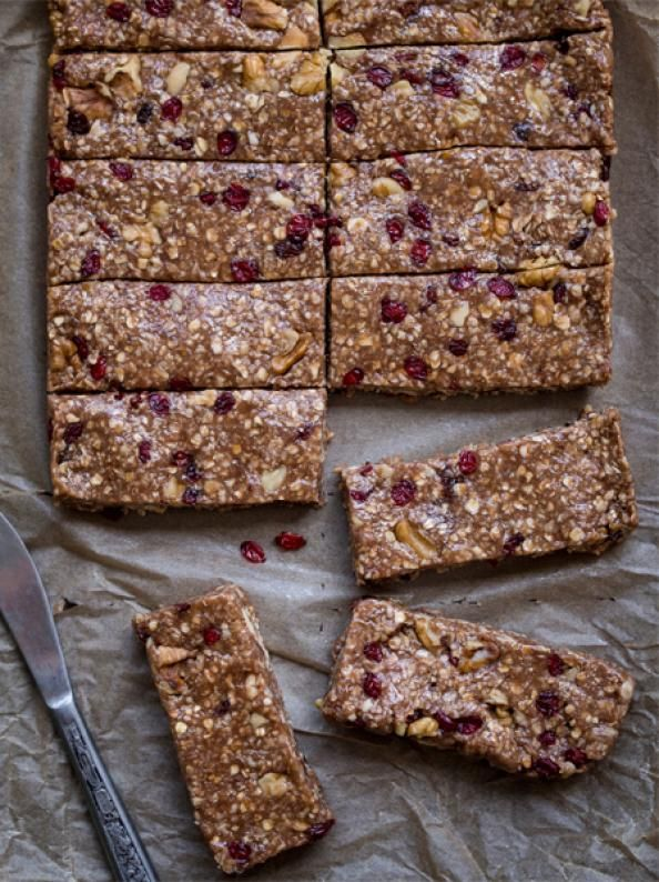 10 Gluten-Free Breakfast Recipes - Cherry Quinoa Granola Bars - 10 Gluten-Free Breakfast Recipes - Men's Fitness
