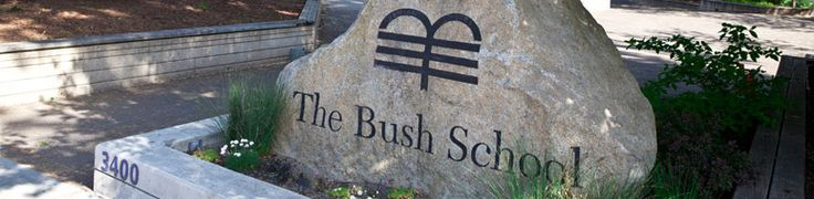 The Bush School is a private K-12 school located in the Madison Valley/Denny-Blaine neighborhood of Seattle, Washington, USA.