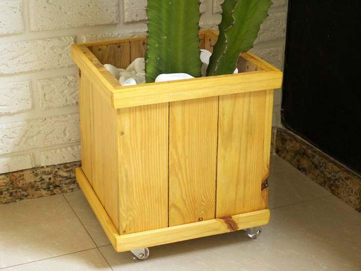 DIY (Do it Youself! - Faça você mesmo) Como fazer um cachepô de madeira - Homens da Casa.